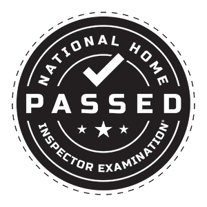 National Home Inspector Examination Badge