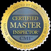 Certified Master Inspector badge