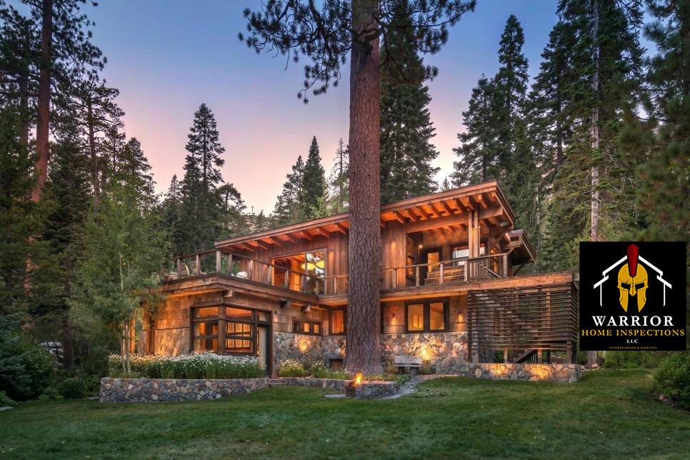 Warrior Home Inspection Log cabin