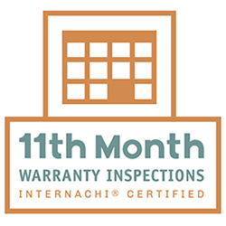 InterNACHI 11th Month Warranty Certified